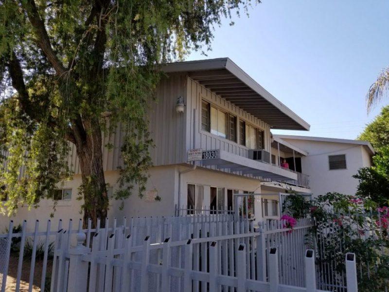 12 Unit Apartment Building with landscape in Northridge, CA